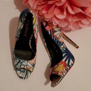Liliana open toe shoe